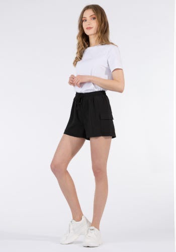 Catia Black Shorts