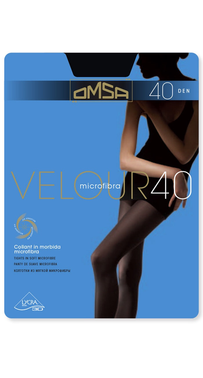 Omsa 197 brown tights