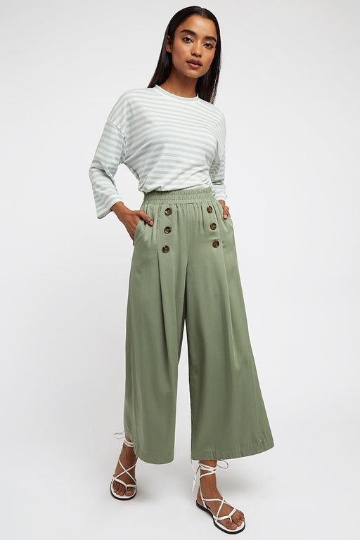 Laurena Khaki Trousers