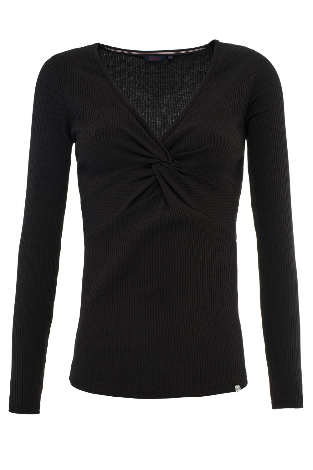 Rib black knot top