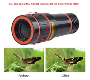 【Last day discount】Magic 8x/12x Zoom Telescopic Lens (Compatible With All Phones)