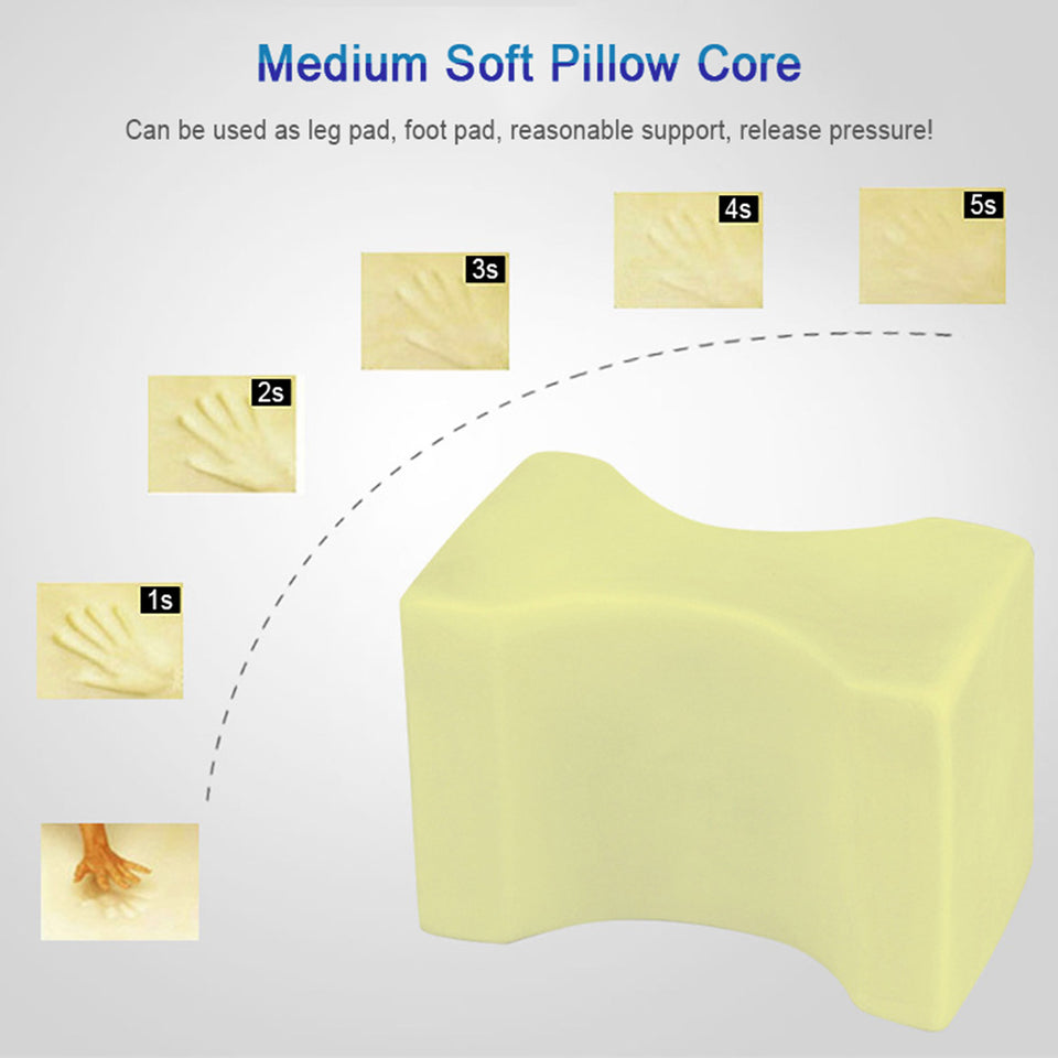 ComfiLife™ Orthopedic Knee Pillow for Sciatica Relief, Back Pain, Leg Pain, Pregnancy, Hip and Joint Pain
