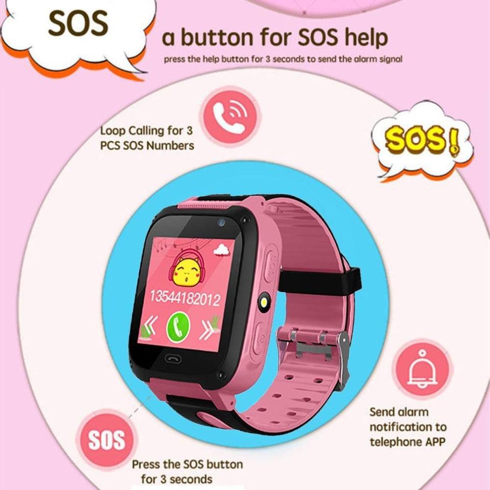 KidSAFE™ - GPS Positioning Smart Watch