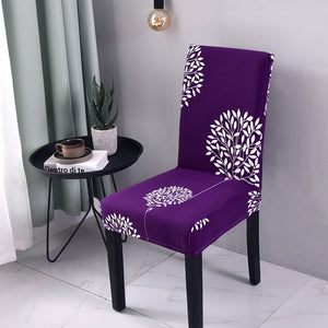 Groovy Multi Color Spandex Chair Cover Gmtry Best Dining Table And Chair Ideas Images Gmtryco