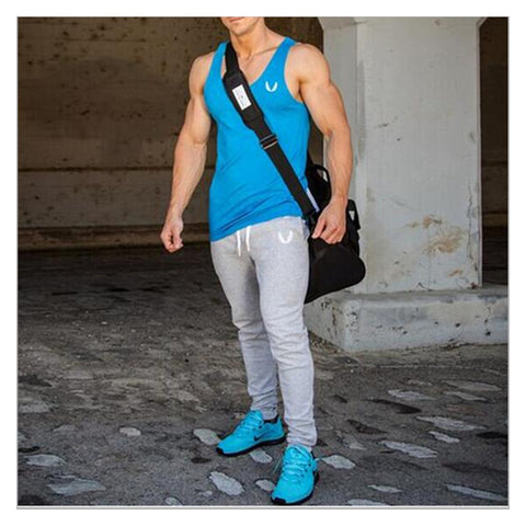 Pants for men Fitness Bodybuilding gyms