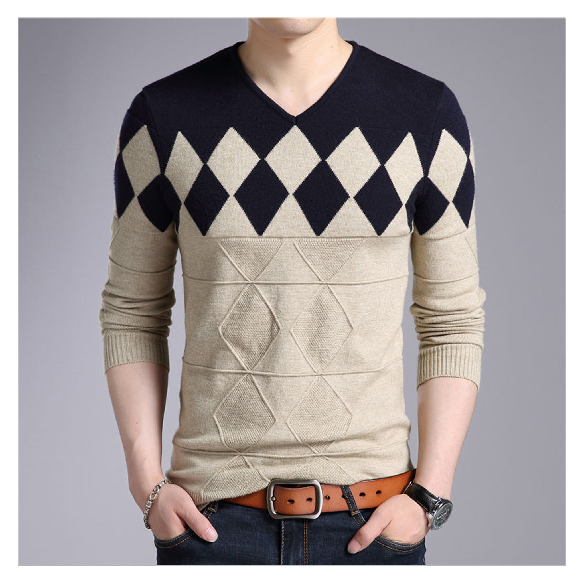 Wool sweater for men collection