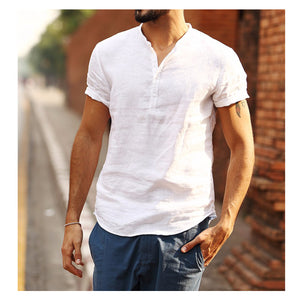 One-color breathable shirt