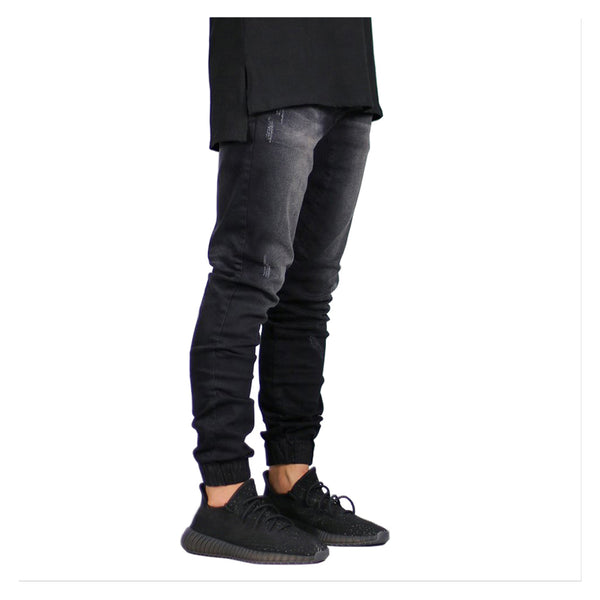Fashionable Elastic For Men Jeans