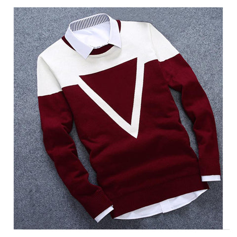 New Design 3colos Fashion Man Sweater For Men