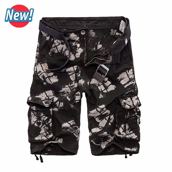 Men Shorts Camouflage Military Summer Style