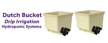 Dutch Bucket Drip Irrigation Hydroponic System