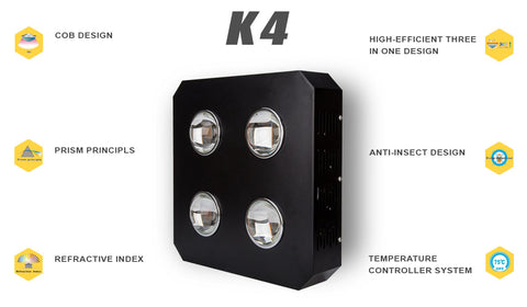 K4 COB LED Grow Light