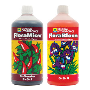 lucas method with GHE flora micro flora bloom