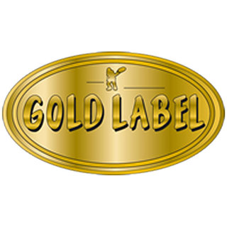 gold label grow medium logo