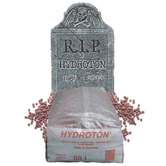Hydroton Discontinued