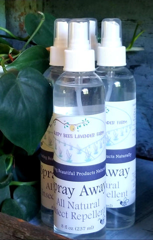 Spray Away All Natural Insect Repellent