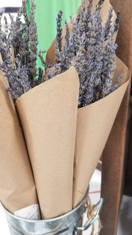 Dried Lavender Bundles   *Minimum Order for Shipping is 10 Bundles*