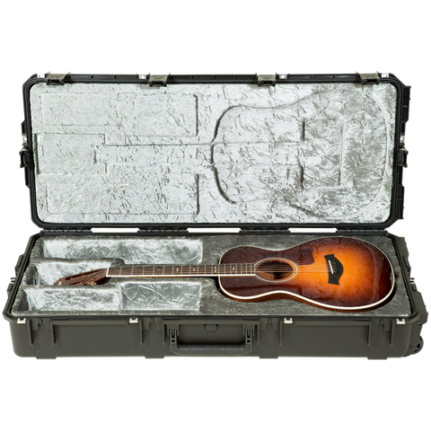 SKB 3i-4217-30 Injection Molded Classical Guitar Case - TSA Latches, w/ wheels