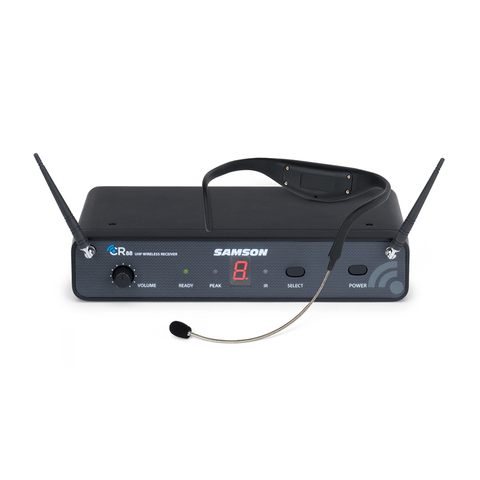 Samson SWC88AH8-D AirLine 88 Wireless Headset System with Unidirectional Headset Microphone