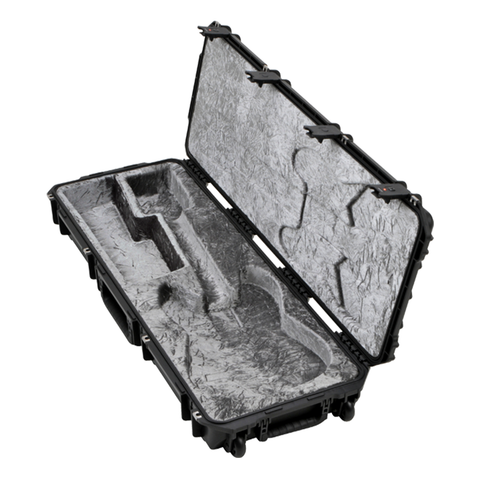 SKB 3i-4214-66 Injection Molded Strat/TeleFlight Case - TSA Latches, w/wheels