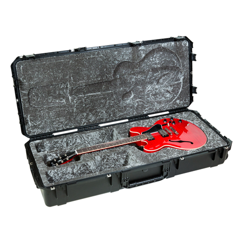 SKB 3i-4719-35 Injection Molded 335 Type Guitar Case - TSA Latches, w/wheels