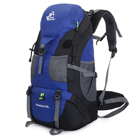50L Waterproof Mountain Backpack