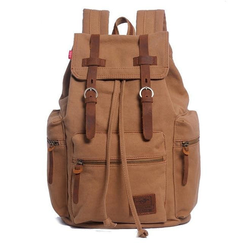 Men's Canvas Travel Backpack