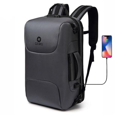 15.6 inch Laptop Backpack with USB Charging Slot