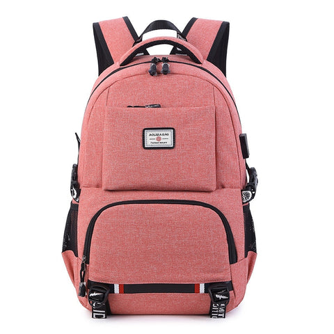 USB Charging Casual Laptop Backpack