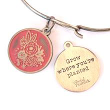Grow Where You're Planted Bangle Terra-cotta