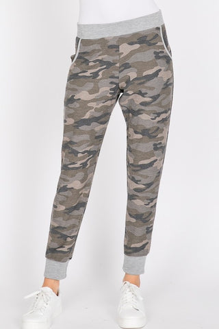 CAMO Sweatpants Olive