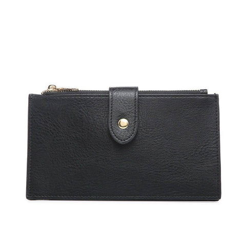 RFID Two Compartment Wallet Black