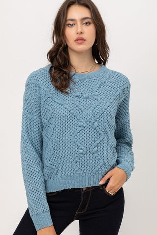 Sue Sweater Blue