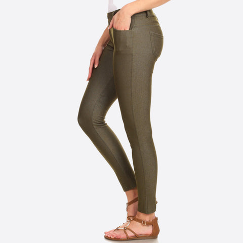 Jeggings Army Green