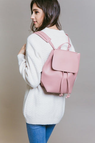 Backpack Purse Pink