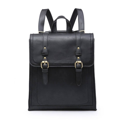 Convertible Structured Backpack Black