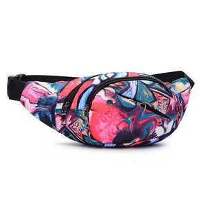 Retro Funk Art Print Fanny Pack