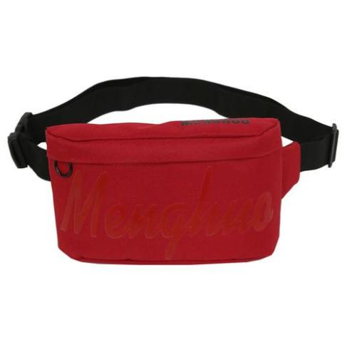 Red Menghuo Fanny Pack Waist Bag