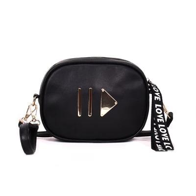 Black Play Button Fanny Pack