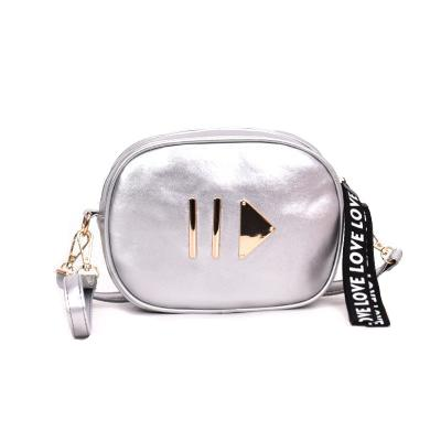 Silver Play Button Fanny Pack