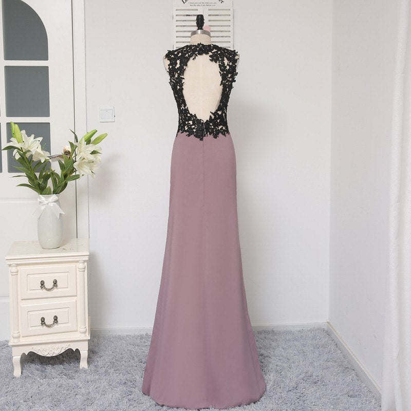 Mermaid Floor Length Evening Dress