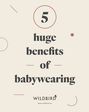 5 Huge Benefits of Babywearing