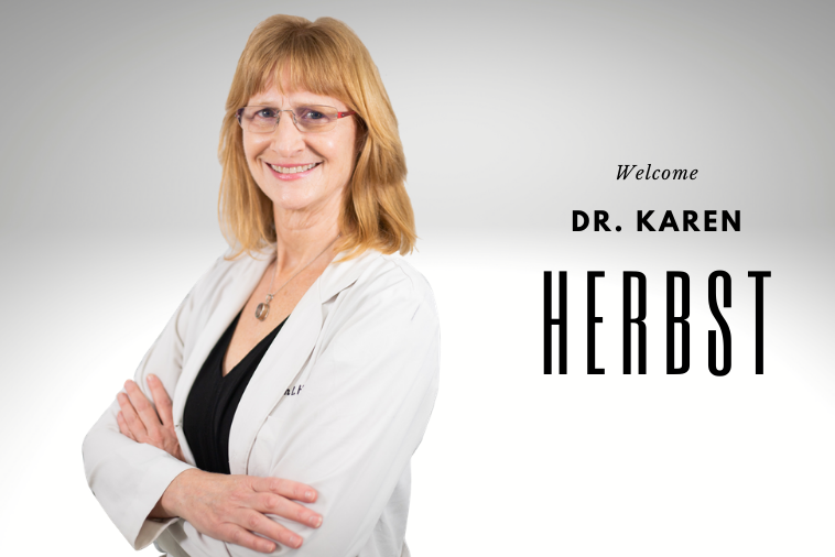 New Partnership with Dr. Karen Herbst