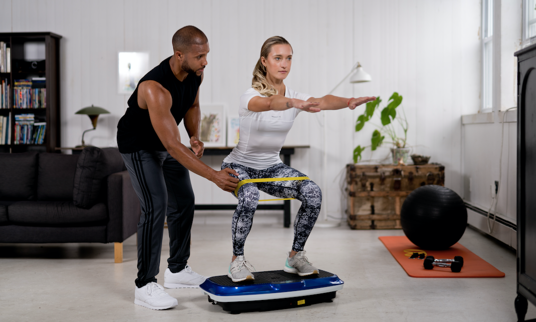Vibration Plate Exercises for Knee Rehabilitation