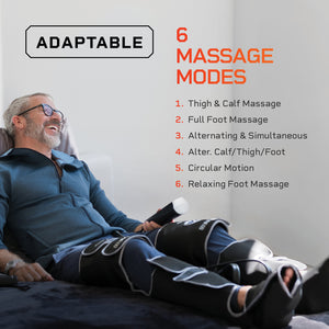 Radiate X Thigh, Calf and Foot Massager