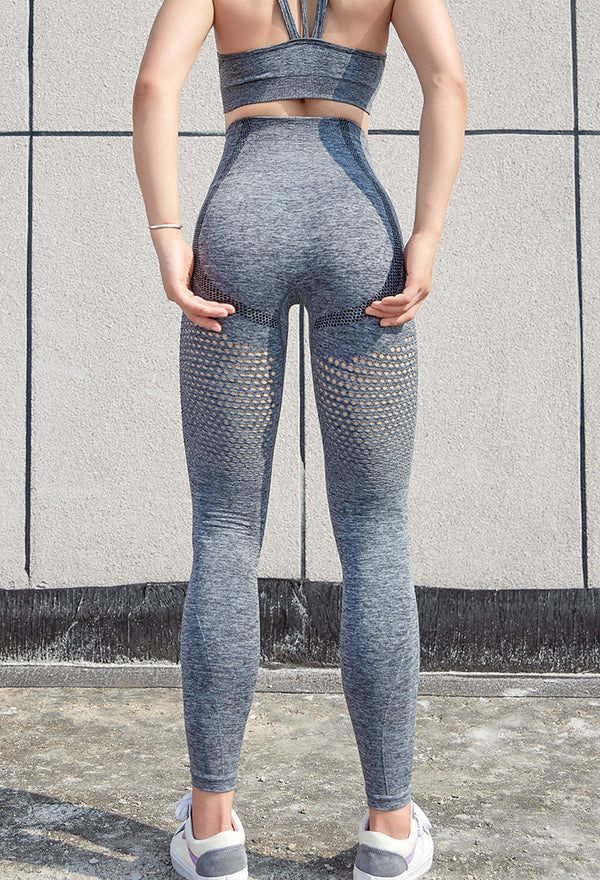 FGL - KRYSTAL LEGGINGS - GREY - Fit Girls Land