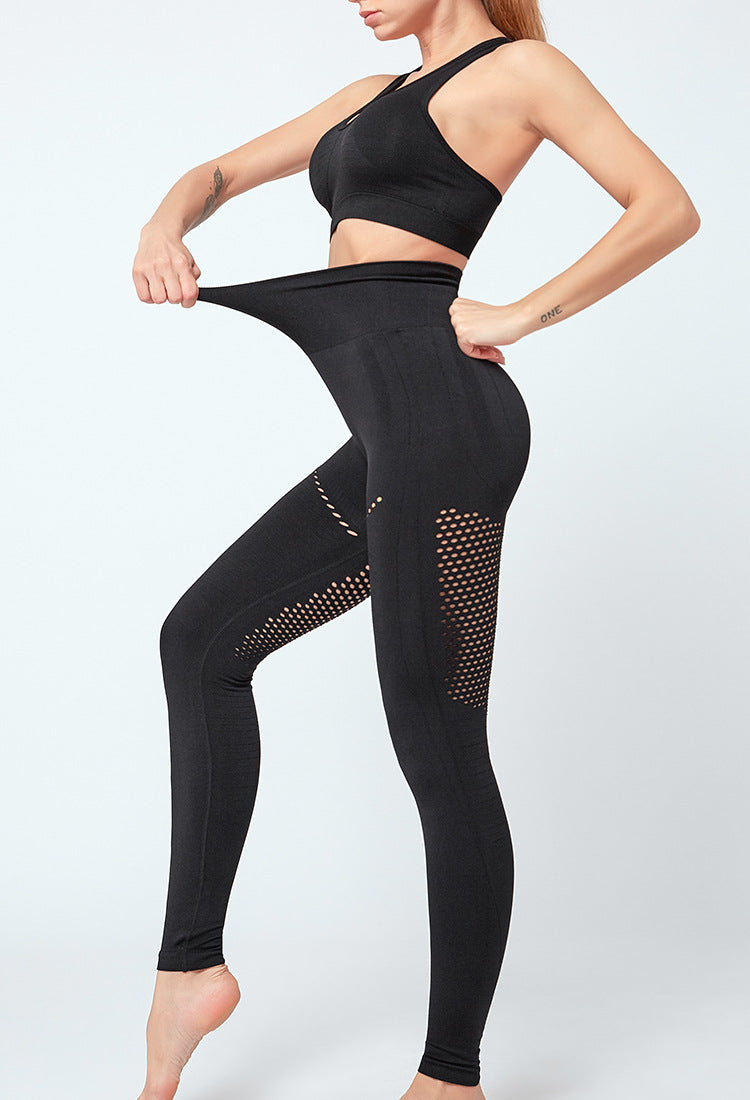 FGL - KRYSTAL LEGGINGS - BLACK - Fit Girls Land