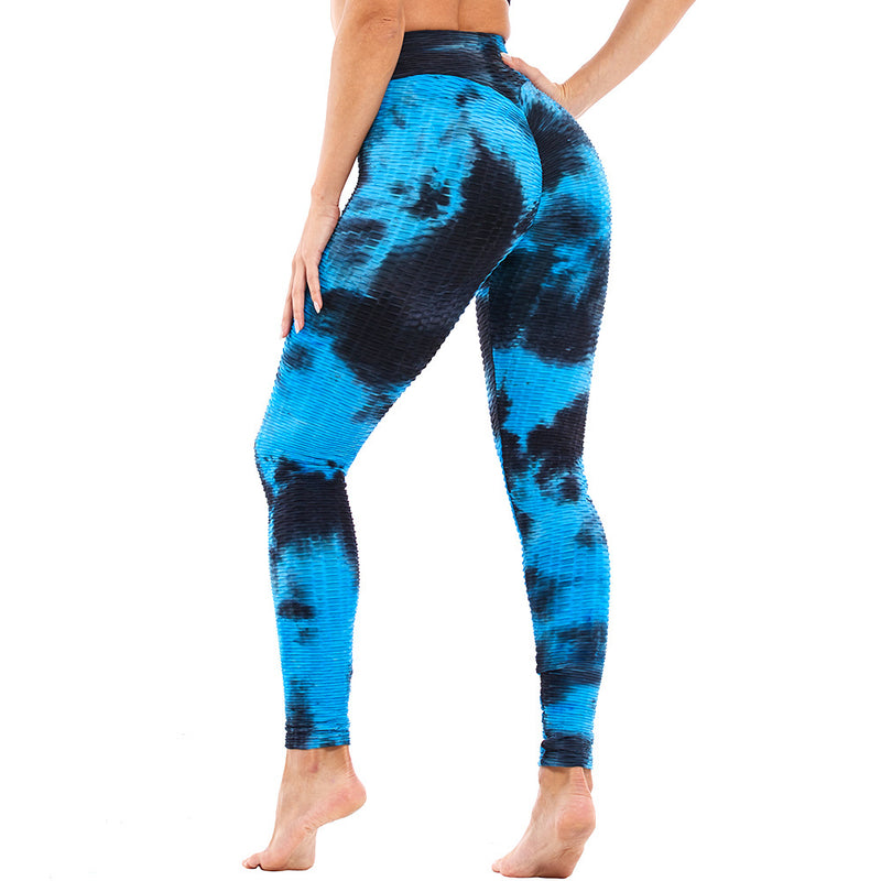 Sexy Tie Dye High Waist Booty Seamless Leggings (10 Colors) - Fit Girls Land