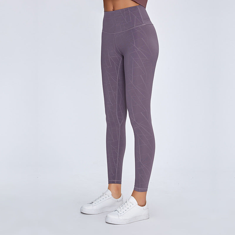 AIR SEAMLESS LEGGINGS - PURPLE TAUPE