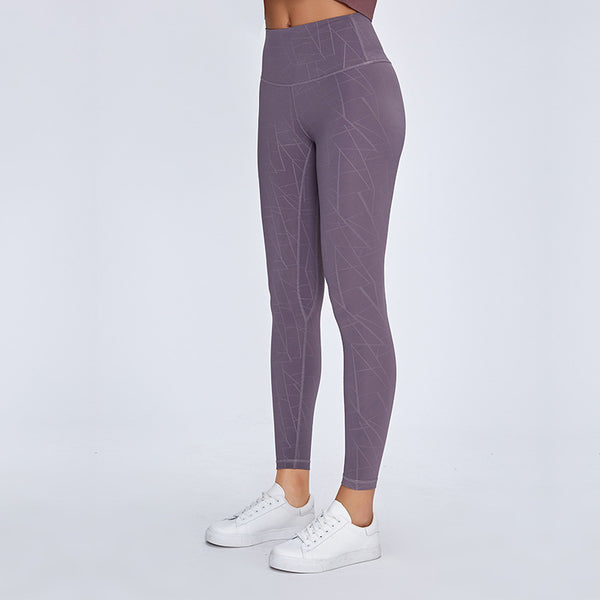 AIR SEAMLESS LEGGINGS - PURPLE TAUPE - Fit Girls Land